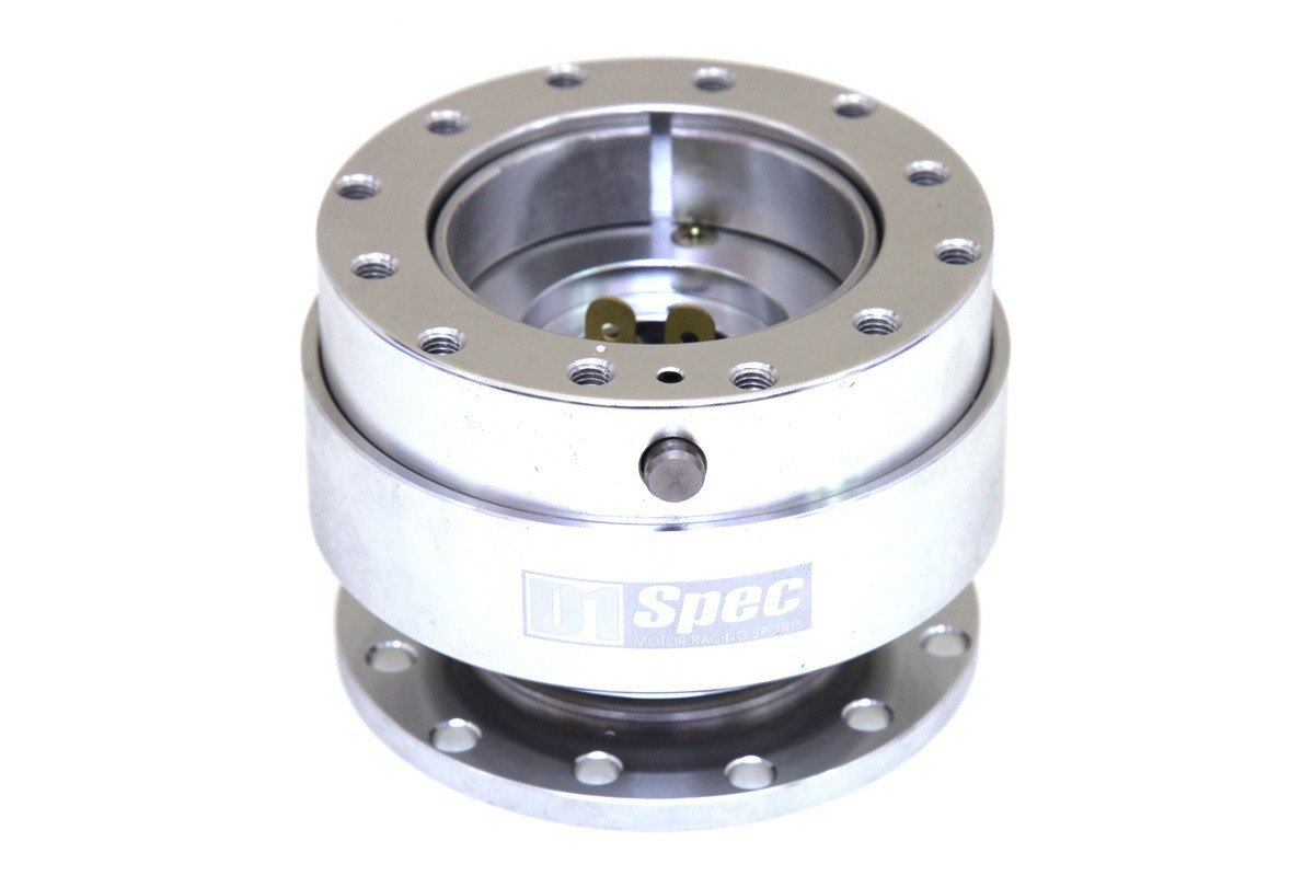 Naba Quick release D1SPEC Silver - GRUBYGARAGE - Sklep Tuningowy